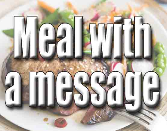 Meal with a Message